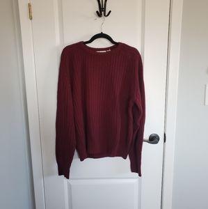 YVES SAINT LAURENT Vintage Burgundy Sweater